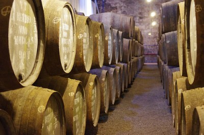 Barrels at the Wiese and Krohn Warehouse in Vila Nova de Gaia cc Image courtesy of Ken and Nyetta on Flickr