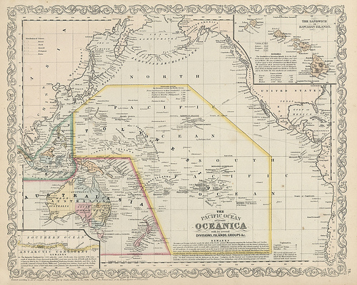 destination guides for Oceana, Polynesia, and South Pacific