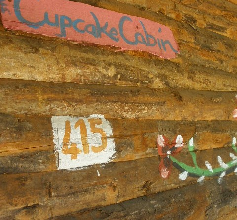 quirky treehouse Olympos