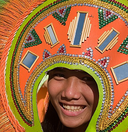 The Philippine, Atihan colorful costume