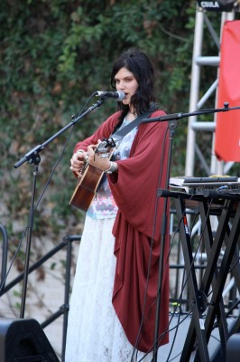 pop star Soko playing in LA