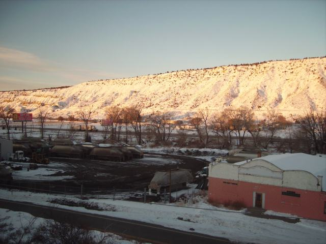 Rocky Mountain Morning from the Train