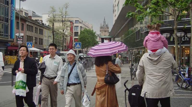 Frankfurters Street Photography in Germany