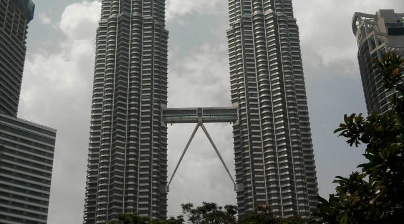 Petronis Towers in Kuala Lumpur, Malaysia