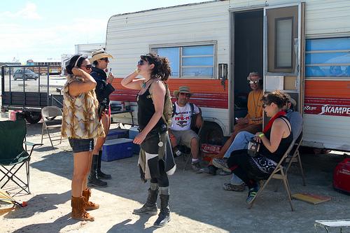 Burning Man Caravan