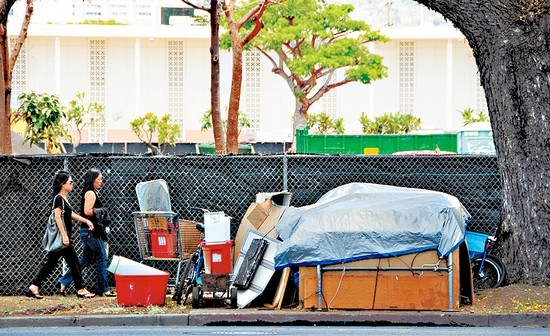 Homelessness on Oahu