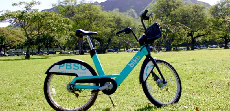 Honolulu Biki Bikes – A fun and reasonable bikeshare program for Hawai'i