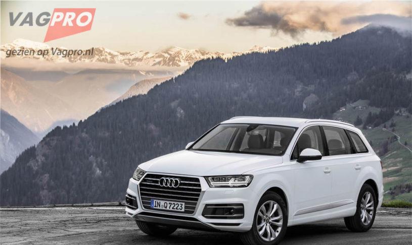 Nieuwe Audi Q7: Met karakter en efficiëntie
