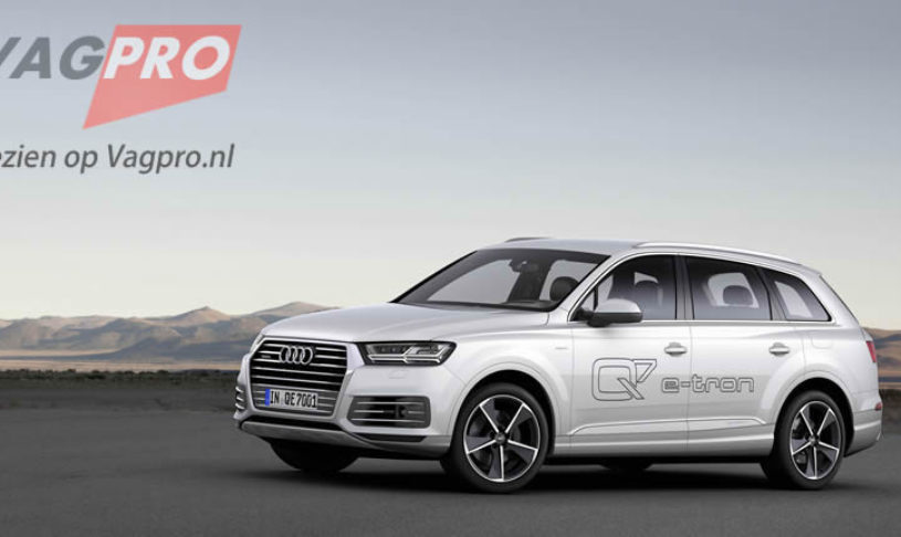 De nieuwe Audi Q7 e-tron