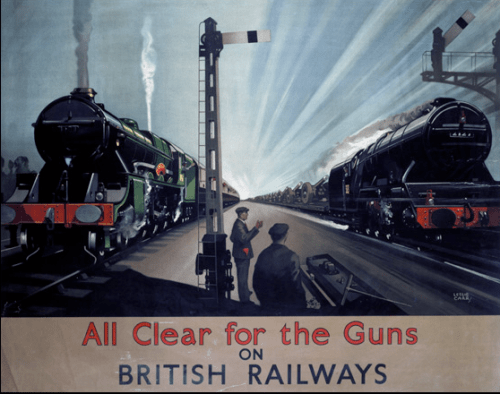 All clear for the guns on British Railways