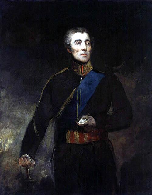 Arthur Wellesley, 1st Duke of Wellington By John Jackson [Public domain], via Wikimedia Commons