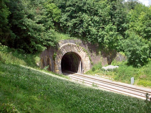 Entrance to Campden Tunnel on the Cotswolds Line