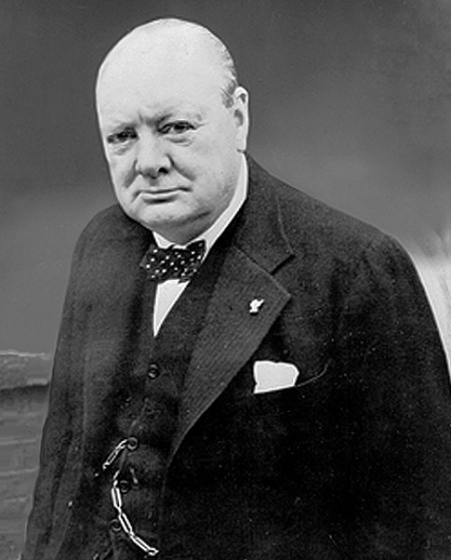 Portrait of Winston Churchill (and not, as it turned out, the Duke of London) By British Government [Public domain], via Wikimedia Commons