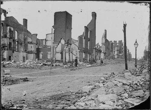 Ruins of Richmond, VA., 1865