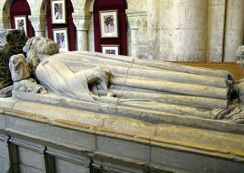 Tomb of King Athelstan in Malmesbury Abbey