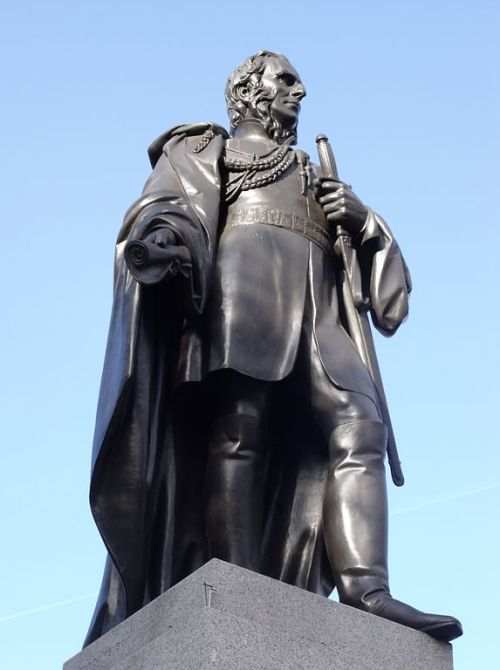 Statue of General Sir Charles James Napier in Trafalgar Square By Elliott Brown [CC-BY-2.0 (http://creativecommons.org/licenses/by/2.0)], via Wikimedia Commons