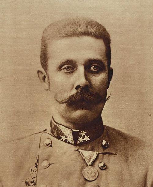 Archduke Franz Ferdinand of Austria Carl Pietzner [Public domain], via Wikimedia Commons