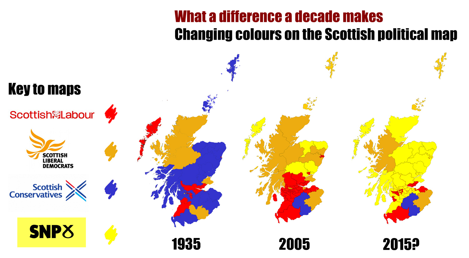 Election 2015 The SNP and Scotlands 70 year itch Almost History – 2015 Uk Election Map