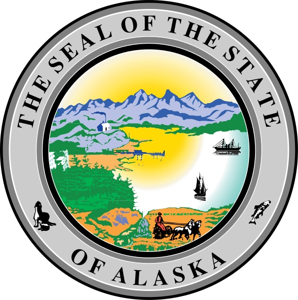 State Seal of Alaska By U.S. Government [Public domain], via Wikimedia Commons