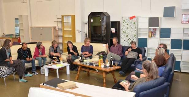 Ungewohnte Umgebung: Die GV 2016 des VAH fand im «Showroom» des Caritas-Wohnen-Ladens Hochdorf statt.