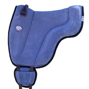 Tapis de monte à cru bleu jean