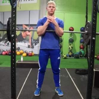 jon jones workout zercher squats