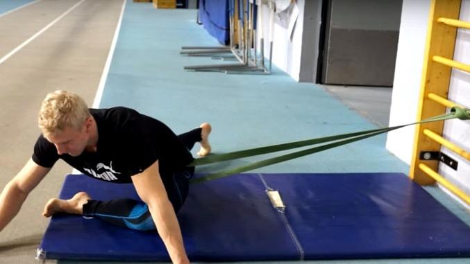 band distraction stretching