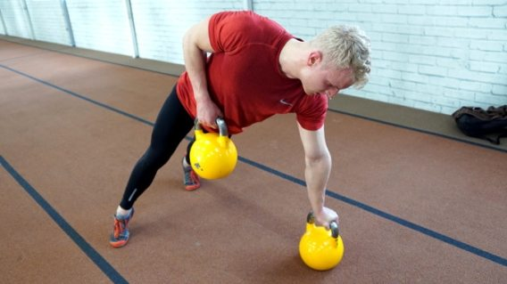renegade row with a core twist
