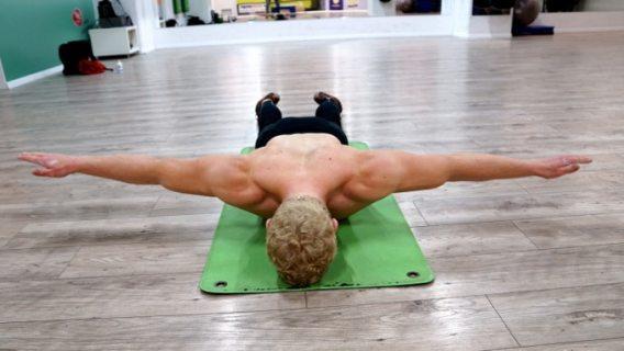 wide raises for rear delts and trapezius