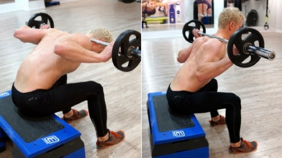 sitting thoracic extension