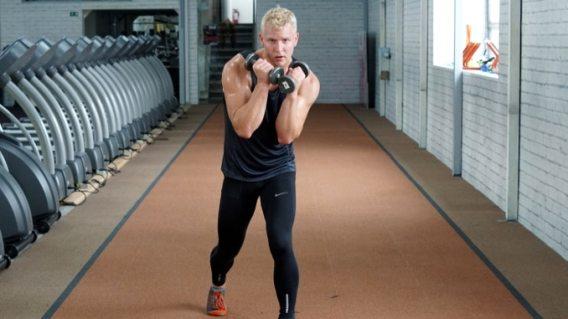 boxer squat for legs