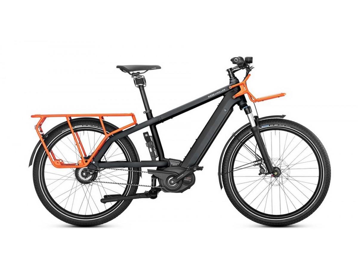 Bicicleta Electrica De Carga Riese Amp Muller Multicharger