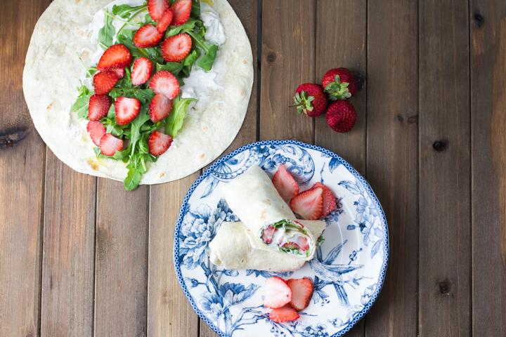 wrap de rucula e morangos #wrap #vaicomeroque #receita (1 of 1)-3
