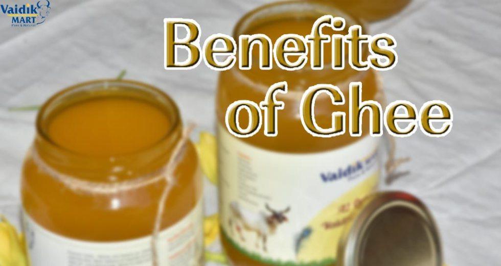 Benefits of desi cow ghee