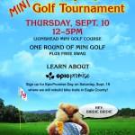 Vail Employee Mini Golf Tournament