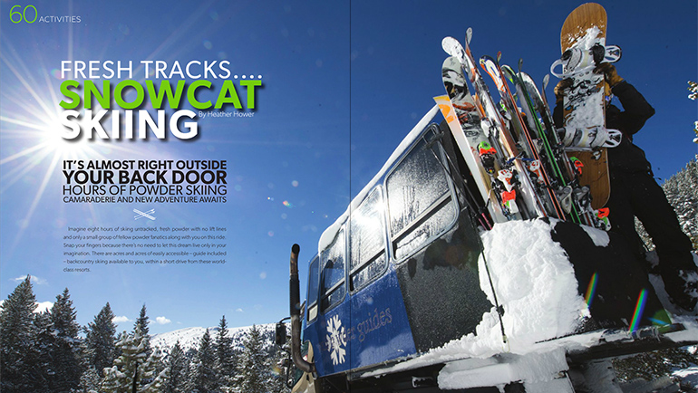 Snowcat Skiing Vail