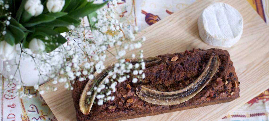 Brunssihitti: Suklainen oliiviöljy-banaanileipä