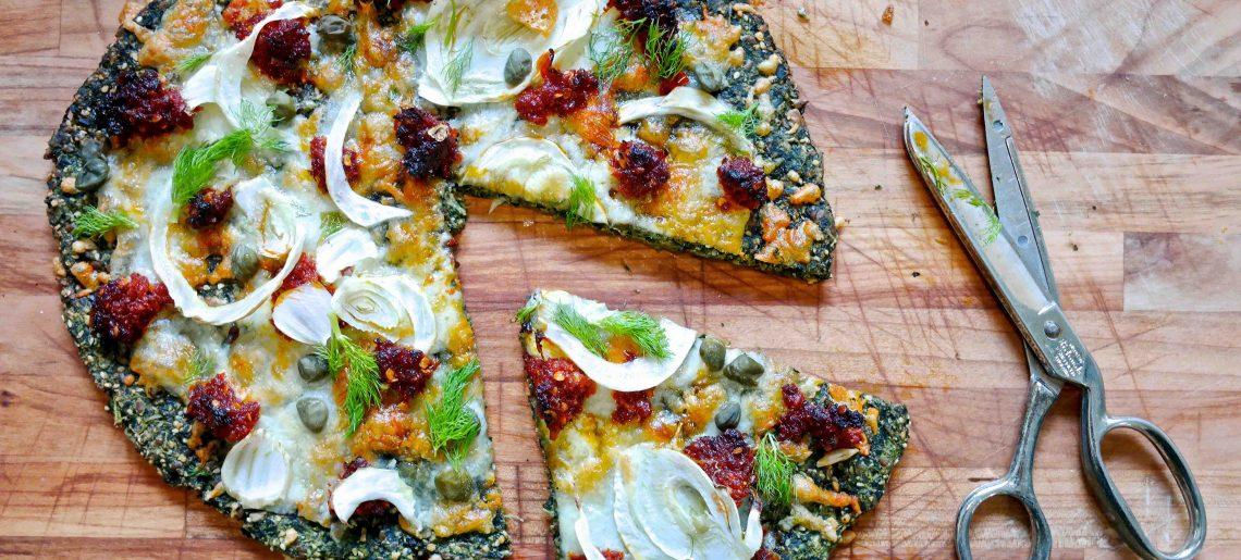 Sunnuntaihortoilijan pizza