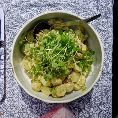 Piknik-eväs: Savumanteli-perunasalaatti