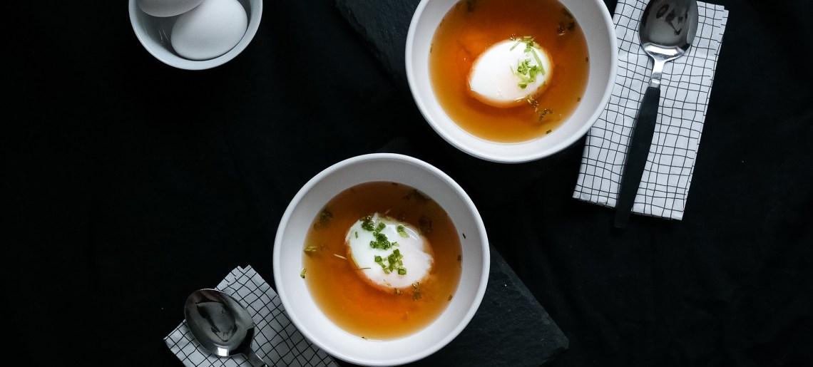 Onsen Tamago eli kylpevät kananmunat