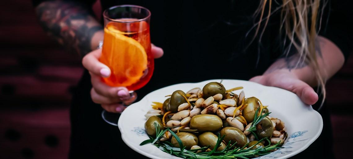 """Grillatut oliivit aka """"aperoliivit"""""""
