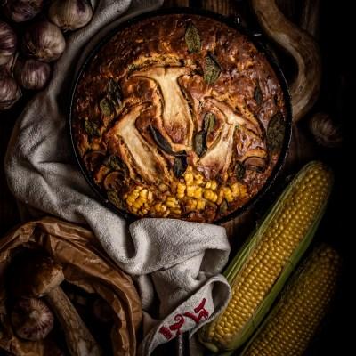 Loaded cornbread two ways