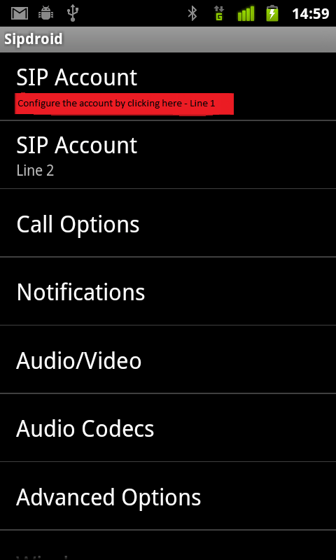 Sipdroid and SMSDiscount – VoIP on the Android without Pbxes