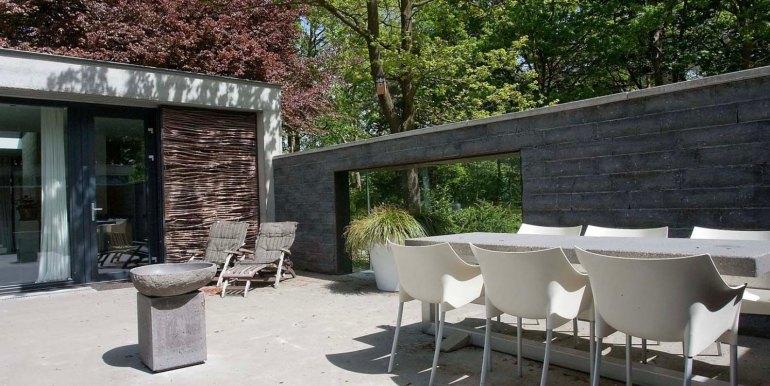 Betonnen boshuis landgoed Bergvliet design vakantiehuis5