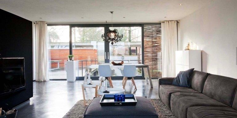 Betonnen boshuis landgoed Bergvliet design vakantiehuis6
