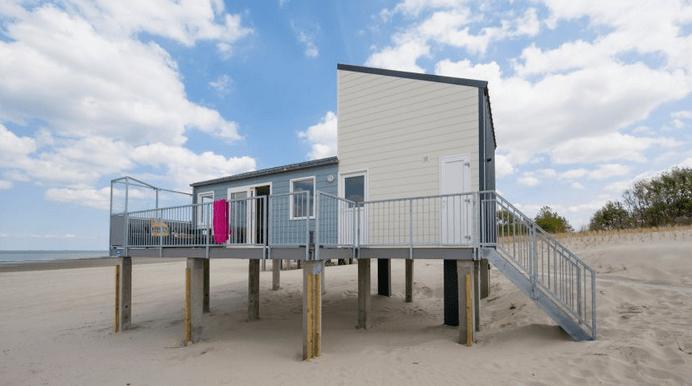 Strandhuisjes Kamperland Zeeland Roompot