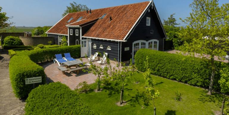 't Kippenkot Westkapelle vakantiehuis zeeland