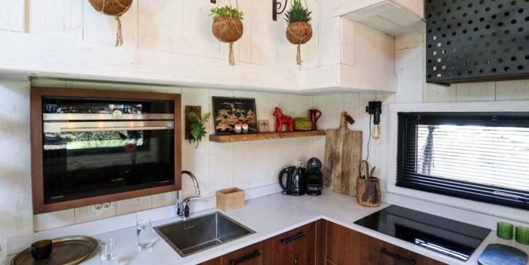 Tiny House 4 personen vakantie droompark De Zanding Veluwe vakantiehuis 4