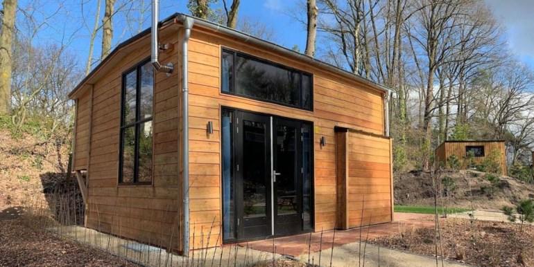 Tiny House 4 personen vakantie droompark Maasduinen Limburg 13