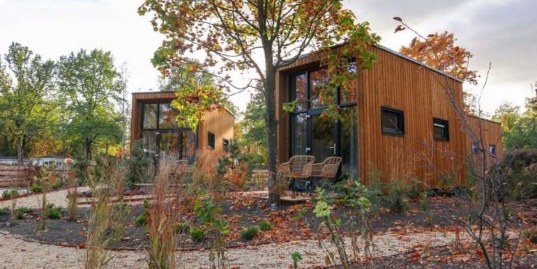 Vakantie in een Tiny House Droompark Buitenhuizen Amsterdam Noord Holland